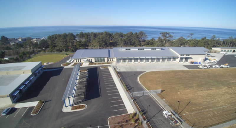 Image of the Central Lincoln Northern Operations Center in Newport Oregon