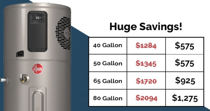 image of heat pump water heater